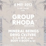 Non Reality x Indie Indie w/ Group Rhoda and Mineral Beings